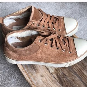 Ugg Fur Lined Tennis Shoes